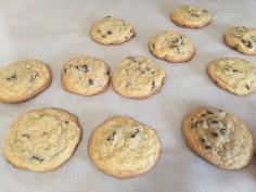 Lightly Browned cookies
