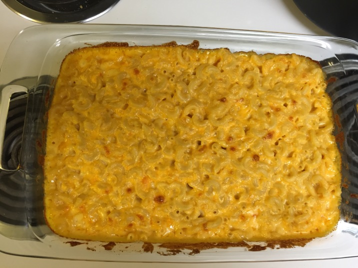 Mac & Cheese Baked & ready to serve
