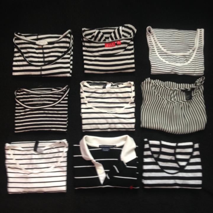 Black & White Staples